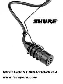 Micrófono Alámbrico SHURE Centraverse Suspendido CVO-B color negro